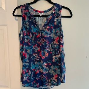 SONOMA sleeveless floral top. Medium